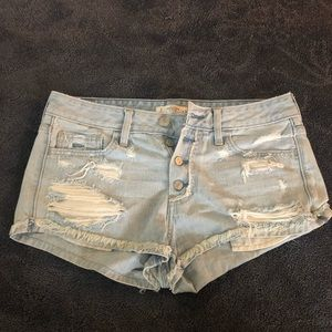 Abercrombie & Fitch Shorts Size 6 Lightwash
